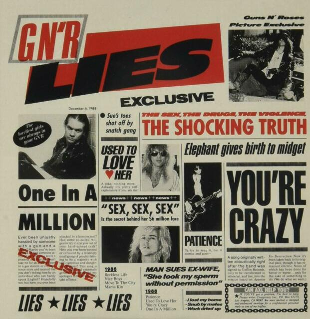 Guns N' Roses G N' R Lies CD NEW SEALED Patience+