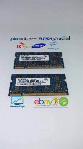 B4 4GB KIT RAM for Toshiba SATELLITE U300 U305