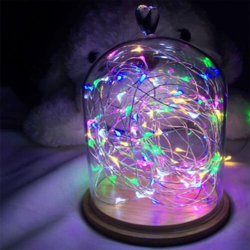 20//30//40//50//100 LED String Copper Wire Fairy Lights Battery Powered 2-10M