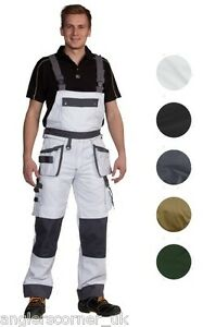 Ocean Thor Work Wear Basic Bib & Brace Overalls / Workwear 80-16