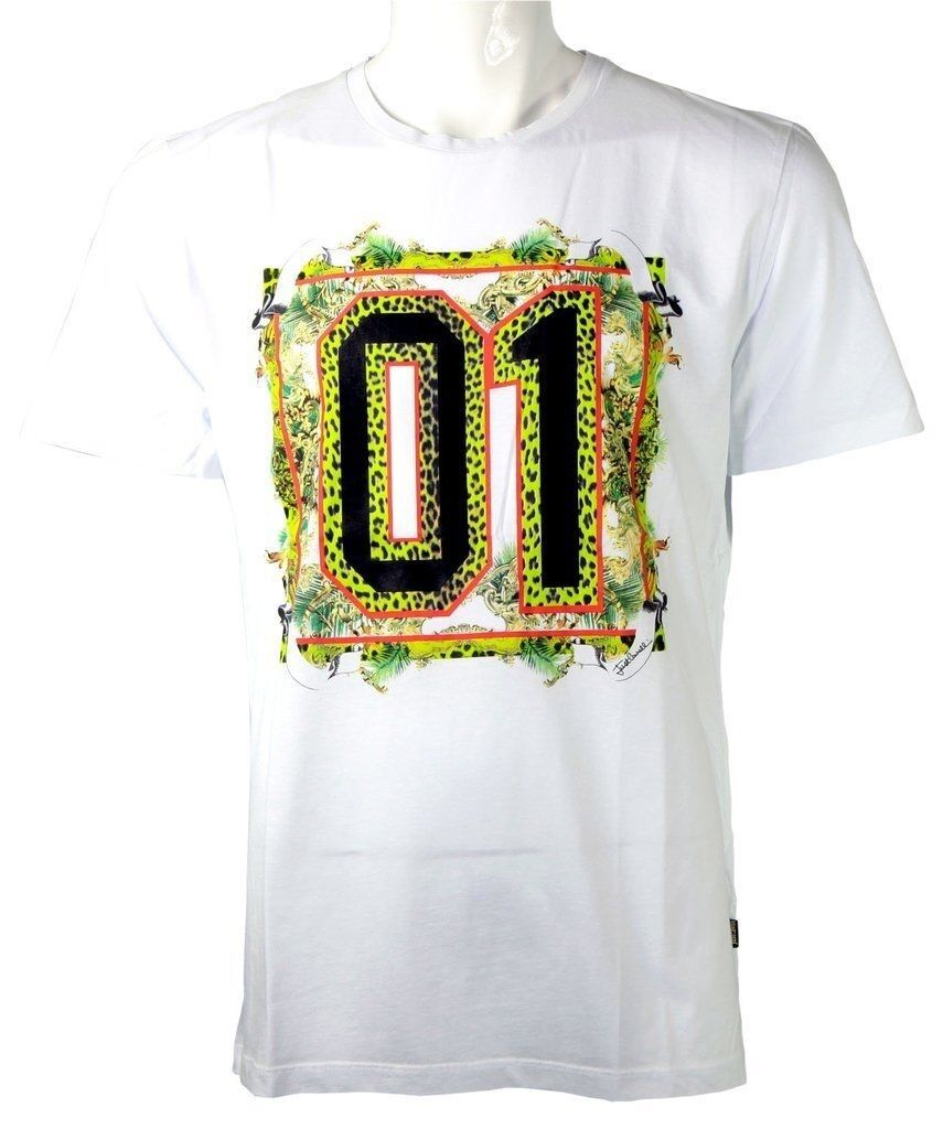 Just Cavalli jungle 01 tee Weiß