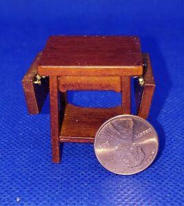 1:24 Scale Dollhouse Miniature JBM Credenza Walnut