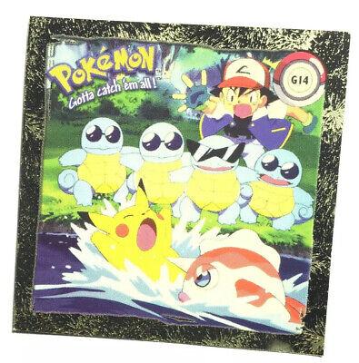 Pokemon sticker ArtBox Charmander pr04 plata brillo sticker 1999 nuevo pegatinas