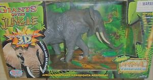 WOW-WEE ANIMAL TRONICS- THE POWER OF MOTION- GIANTS OF THE JUNGLE- ELEPHANT