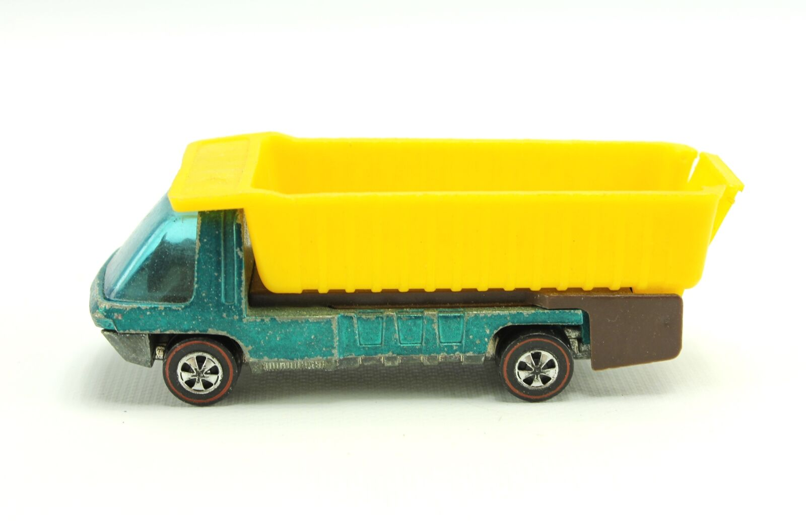 rotline Hot Wheels 1970 Heavyweights Blau Teal Diecast Dump Truck Ships Quick