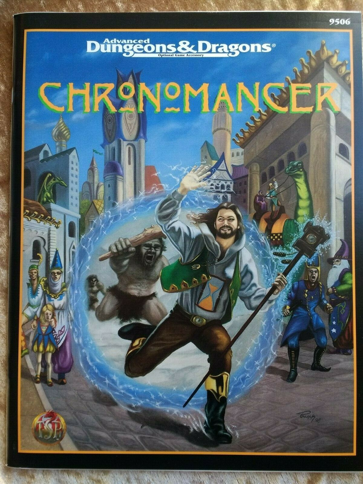 Chronomancer AD&D Accessory 2nd Edition - TSR 9506