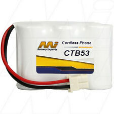 CTB53 3.6V NiMH Cordless Phone Battery