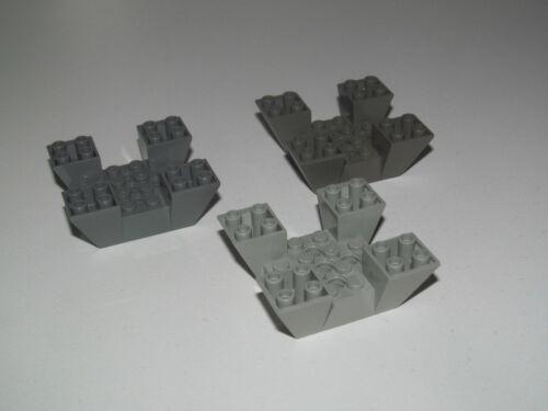 Lego ® Base Plate Forme Slope Brick 6x6x2 Inverted Choose Color 30373