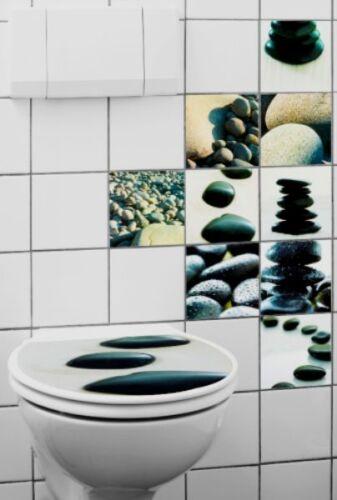Bad Wc Aufkleber Fliesenaufkleber Steine 10Tlg. | Ebay