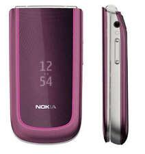 original Nokia 3710 fold Plum 3G Cellphone Unlocked free shipping