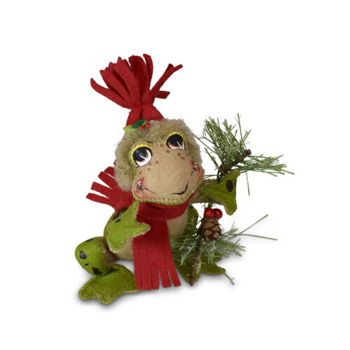 """Annalee Christmas Rustic Pine Frog 9/"""" New 2020 760820"""