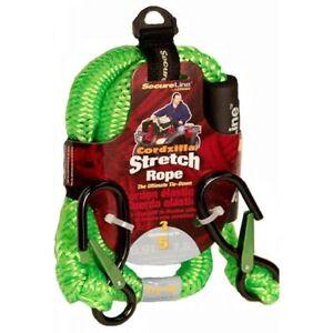 Crawford-Lehigh-CZB3-3-Feet-Cordzilla-Stretch-Rope-Green