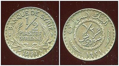 Syrie 1/2 Piastre 1921