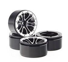 "ALIENTAC Four(4) 1.9"" Wide 1"" Alloy Beadlock Wheel Rim for 1/10 RC Model #004"