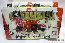 2007-08 In The Game O CANADA Hockey, Factory Sealed Trading Card Hockey Box