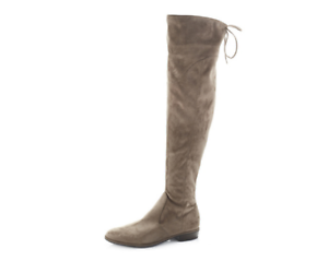 With Marc Over Taupe Flat Boots 42 Heel Faux 8 The Uk Hulle Knee Fisher Suede qaHqZwf