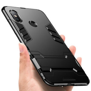 factory price 22867 f65a3 Details about Hybrid Kickstand Hard Shockproof Armor Case For Xiaomi Redmi  Note 6 Pro Cover