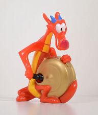 "1998 Mushu Dragon & Gong 3.25"" McDonald's Action Figure #5 Disney Mulan"