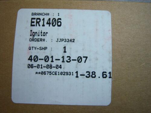 MCLAIN NEW ERP ER1406 FURNACE IGNITER ROBERTSHAW 41-406 WEL RHEEM