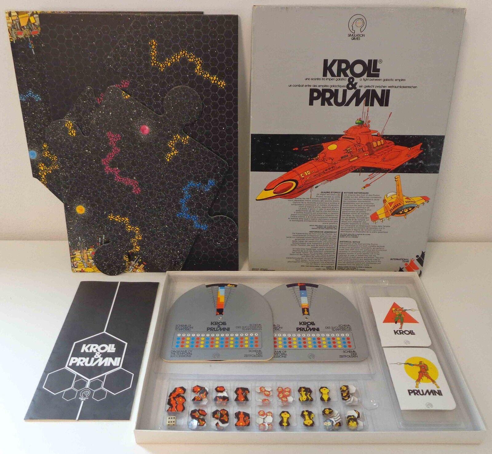 Board game GAME GAMES VINTAGE 1979 Kroll & prumni International Team Italian