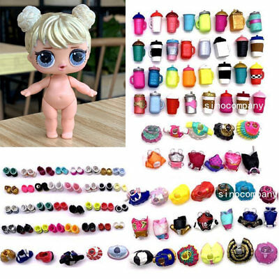 Dolls Have An Inquiring Mind Lol Surprise Glam Glitter Curious Qt Doll &random Dress Shoes Bottle Accessory T Other Brand & Character Dolls