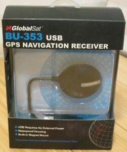 GLOBALSAT BU 353 USB GPS NAVIGATION RECEIVER 64BIT DRIVER
