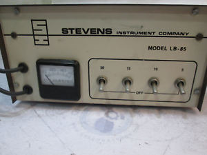 Stevens Instrument Company V-34 Gearcase Vaccuum Tester