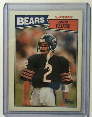 "Sharp Special Buy Beautiful Doug  Flutie  1987   topps  # 45  "" Rookie  Card ""---real Nice Sports Mem, Cards & Fan Shop"