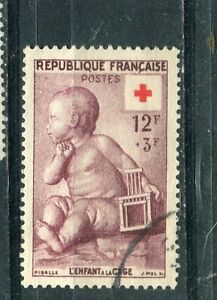 Timbre-Stamp-France-N-1048-Oblitere-1955-TTB-Cote-10
