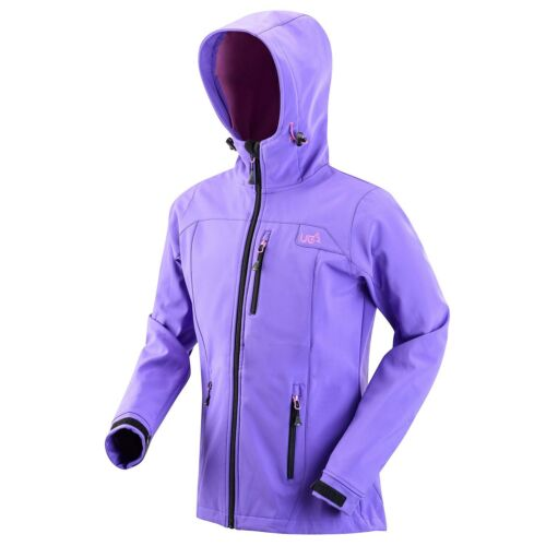 Urban Beach Womens Softshell Jacket Waterproof Breathable Lightweight Walking