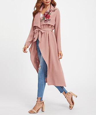 Metodico Spolverino Giacca Mezza Stagione Donna Woman Autumn Long Jacket Jac0019 P Per Farti Sentire A Tuo Agio Ed Energico