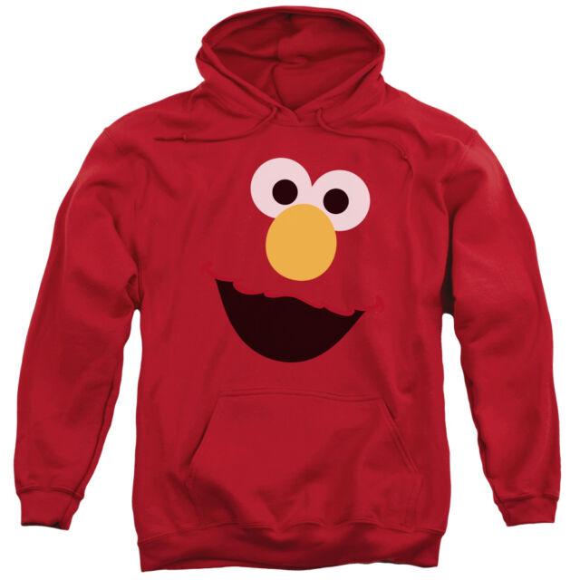 Adult elmo face full zip hoodie