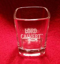 Lord Calvert Square Shot Glass Barware Shooter Collectible Eye Catching Luxury