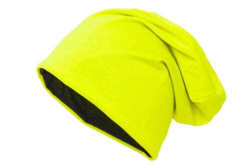 Wendemütze Beanie Mütze zum Wenden 2-farbig reversible Wendebeanie von shenky