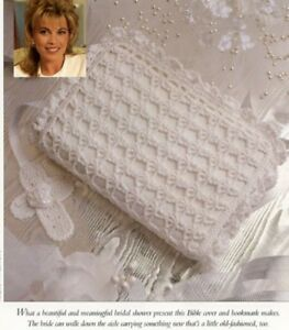 Puffs and Lace Afghan Vanna Crochet Pattern//Instructions Leaflet NEW