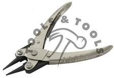 Heavy Duty Parallel Action Round Nose Jaw Pliers Opticians Jewelry Making Crafts
