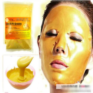 24K-GOLD-Active-Face-Mask-Powder-50g-Anti-Aging-Luxury-Skin-Care-Spa-Treatment