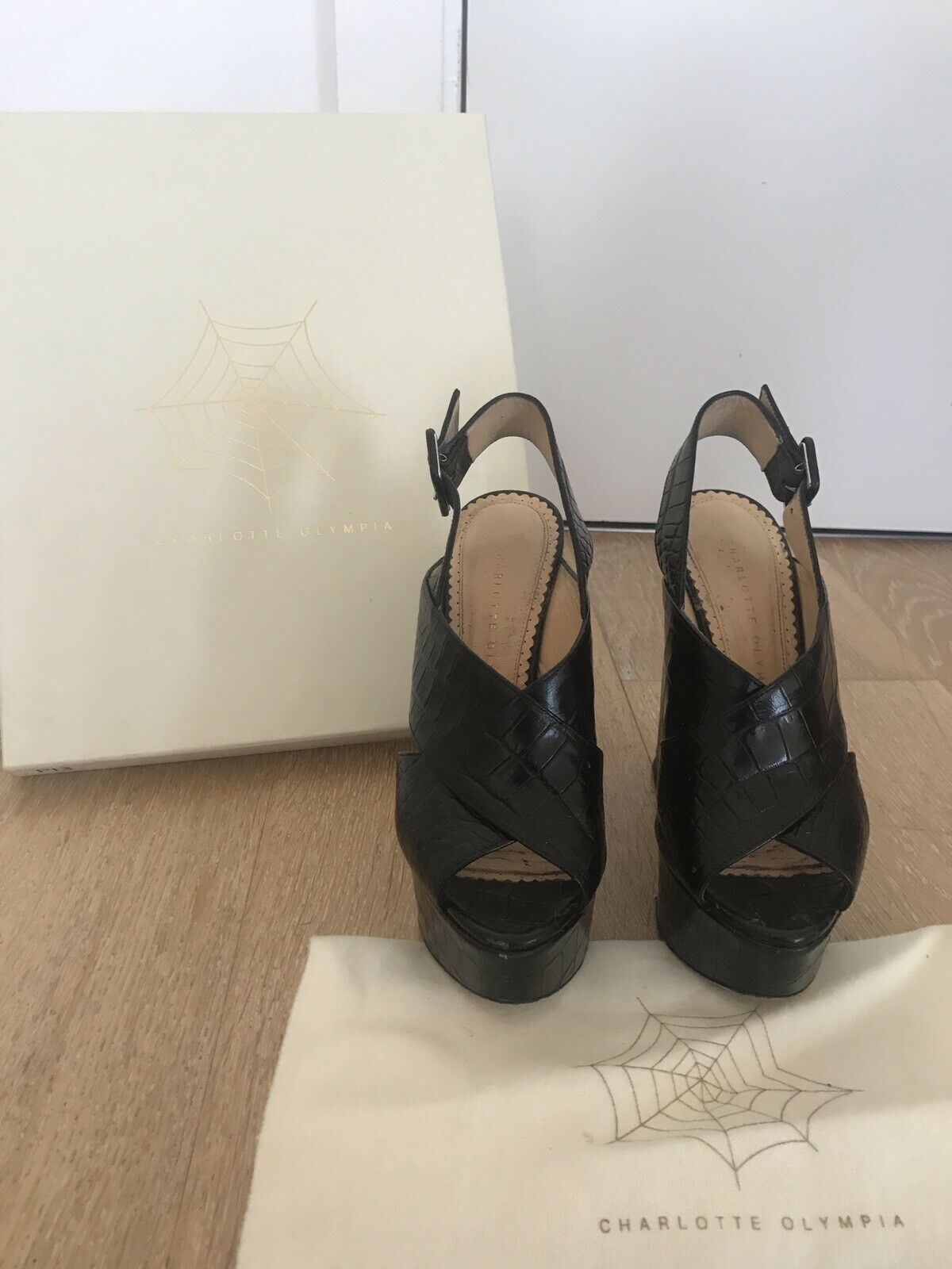 Charlotte Olympia shoes Size 36