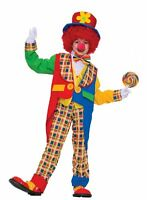 Forum Novelties Clown On The Town Costume, Small , New, Free Shipping