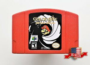 N64-Golden-Eye-007-with-Mario-Characters-Nintendo-64-Video-Game-Hack-USA-Seller