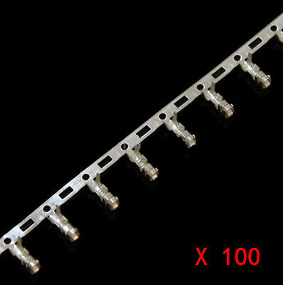 100* Female Pin Connector Terminal for Dupont Jumper Wire Cable XH2.54mm Good