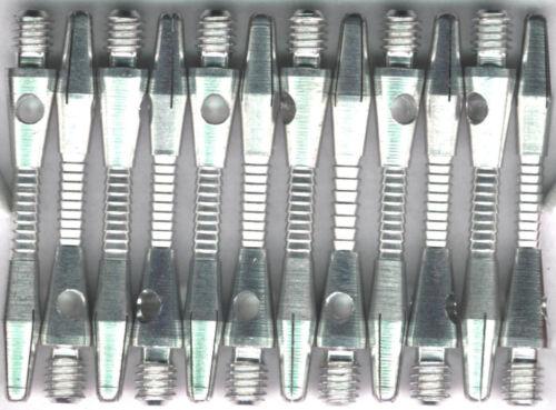 2ba Silver RAZOR Aluminum Dart Shafts 3 per set 1.5in