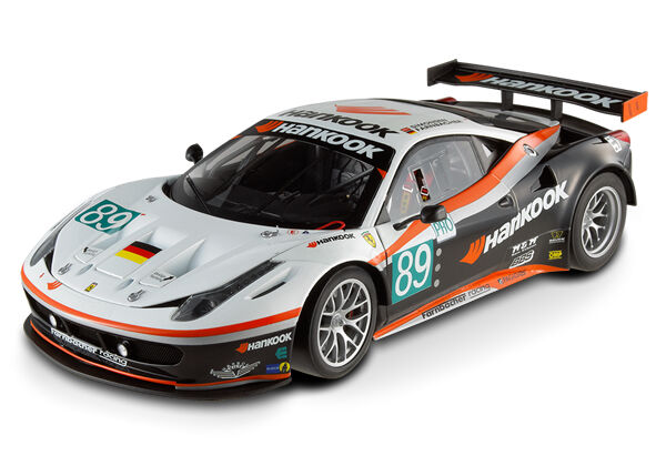 Ferrari 458 Italie GT2 24 Heures de le Mans  89 Hot Wheels Elite 1 18