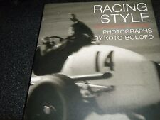 GOODWOOD REVIVAL RACING STYLE  BOLOFO ERA BUGATTI STIRLING MOSS KIEFT LISTER F1