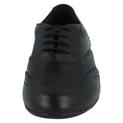 Girls Clarks Black Leather Lace Up Shoes UK Sizes 13 - 2.5 Dance Honey