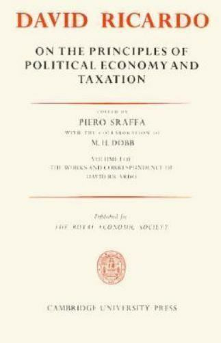 On the Principles of Political Economy and Taxation [The Works & Correspondence