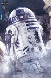 LAST JEDI - STAR WARS - R2-D2 POSTER - 22x34 MOVIE 15536