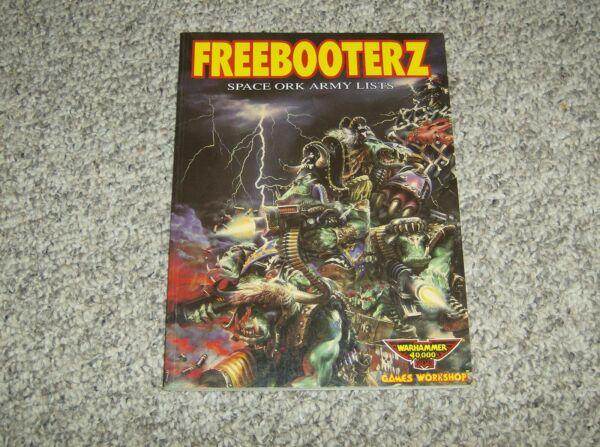 Focoso Warhammer Orks Freebooterz Da Collezione 1991