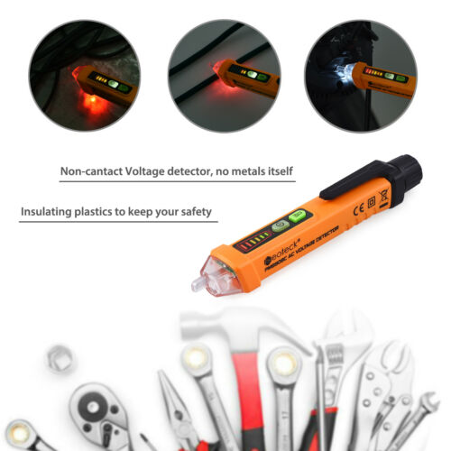12-1000V Stift Elektrische Volt Spannungsprüfer Berührungsloser Alarm Detektor