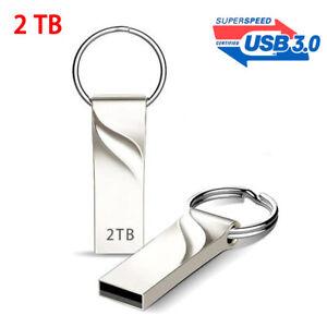 2TB USB Flash Drive 3.0 High-Speed Data Storage Thumb Stick Store Movie Picture